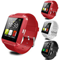 Bluetooth smart watch u8 reloj u smartwatch para iphone 4/4s/5/5s/6 y samsung s4/note/s6 htc android teléfono smartwatch
