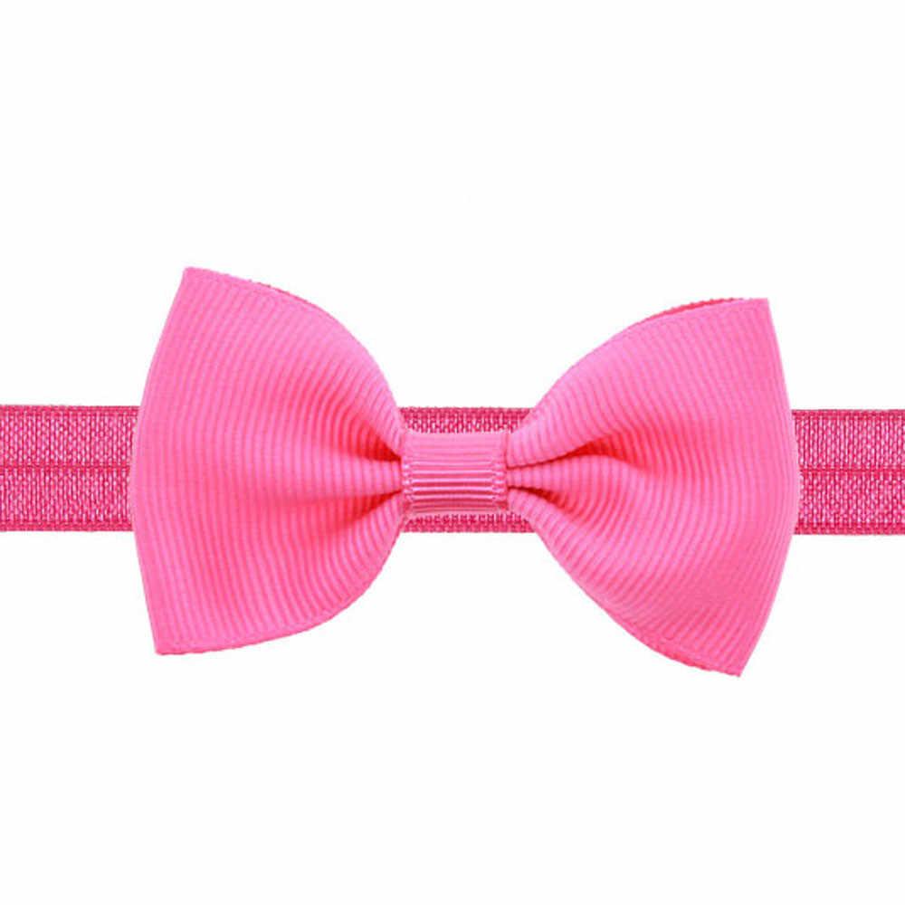 ใหม่น่ารักเด็กหญิงแถบคาดศีรษะ Hairband กระต่ายหูโบว์ Headwear ร้อนขายเต่าหัว Knot เด็กเสื้อผ้าอุปกรณ์เสริม