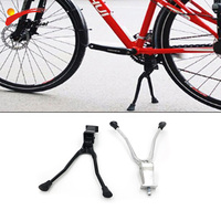 Bike Double Kick Stand Bike Leg For Bicycle Bike 20 24 26 700C Parking Rack bisiklet aksesuar MTB Road Bicycle Support Stand