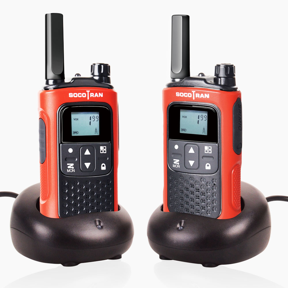 PMR 446 License-free Walkie Talkies For Adults Rechargeable Scocotran 2 Way Radio 8 Channels Scan VOX Ham Radio Portable