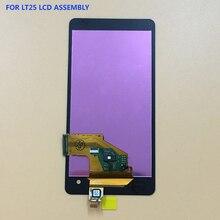 Купить Для sony Xperia V LT25 LT25i черный Сенсорный экран планшета Панель + ЖК-дисплей Дисплей монитора в сборе