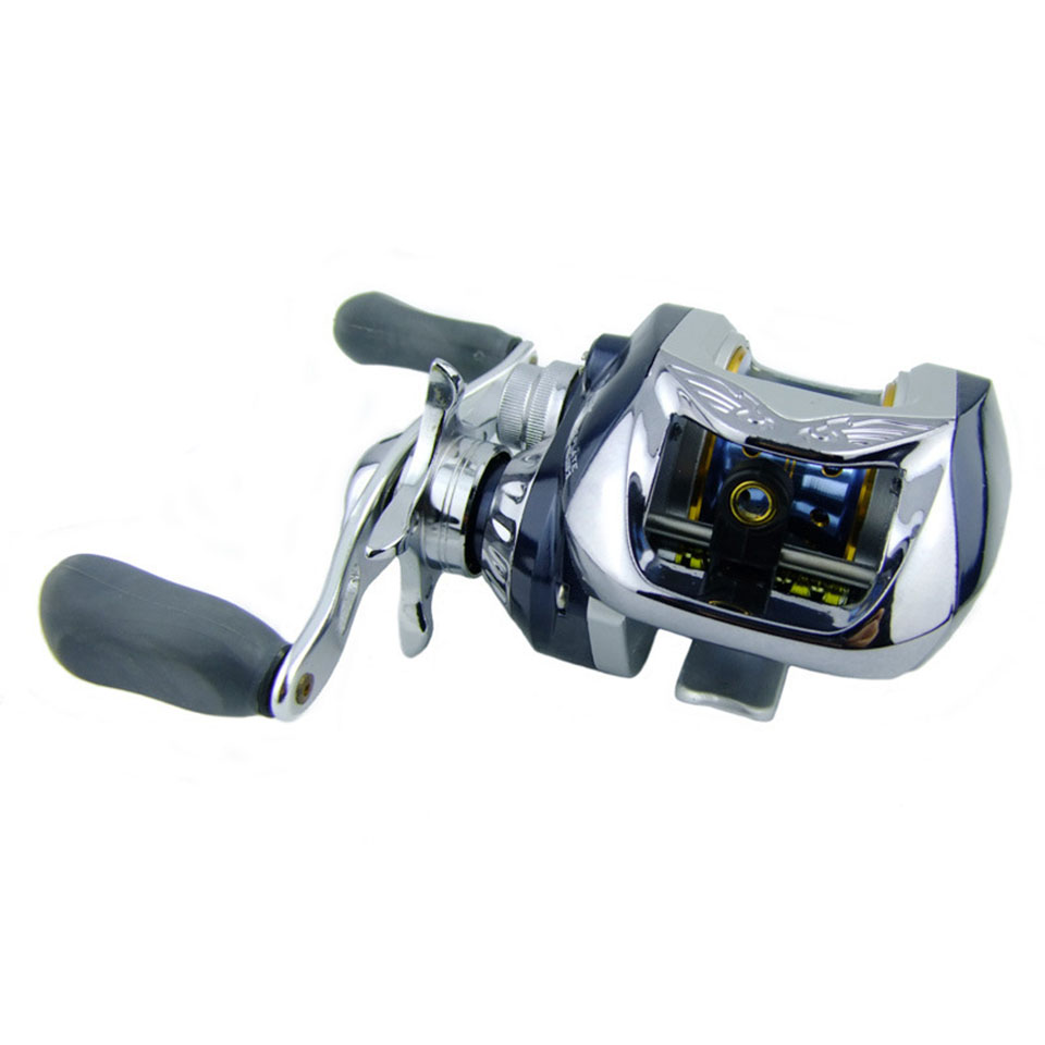 New 6.3:1 10+1 BB Baitcasting Reel Metal Surf Bait Casting Fishing Reel Wheel Left Right Hand Wheel