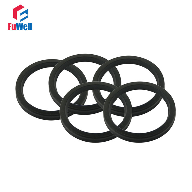Ush Type Hydraulic Oil Seal 112x192x5mm Nbr Piston Seal Ring For