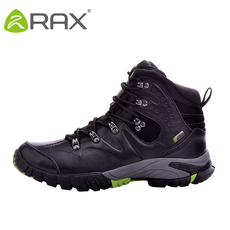 RAX Imperméables Escalade Bottes Femme Randonnée Chaussures En Cuir En Plein Air Bottes pour Montagne avec Événement Imperméable Chaussettes Doublure