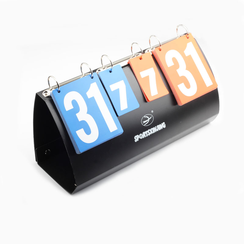 4 digit Score boards Voplleyball Portable folding Basketball football scoreboard handball table tennis Sports score board