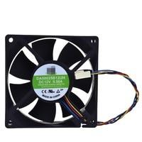 Para YM DA08025B12UH DC12V 0.50A 80*80*25MM ventilador de refrigeración 4pin enfriador procesador ventilador de disipador térmico|Ventiladores y refrigeración|   -