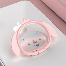 Universal Finger Ring Mobile Phone Holders for iPhone XS Max X 8 7 Cartoon Dog  Stand for Samsung S8 Xiaomi Valentine Gift Girls f1061d1daadb