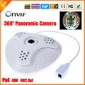 48 В 802.3af PoE IP камера рыбий глаз 360 град. панорамная камера IP PoE 5MP 1.7 мм объектив 1/2. 8 '' SONY IMX222 Full HD 1080 P ip-cam