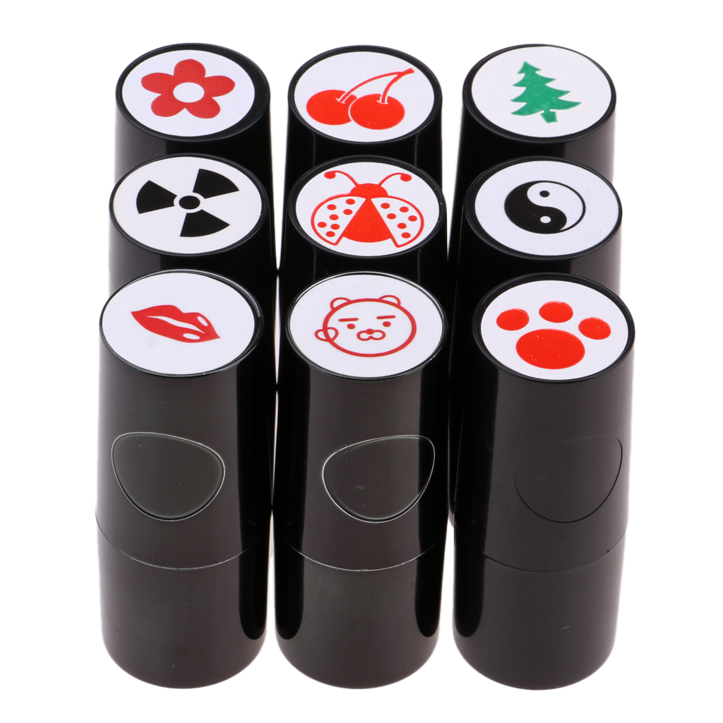 Bright Golf Ball Stamp Stampers Markers Quick-Dry Long Lasting And Bright Colorfast For Golf Club Accessories