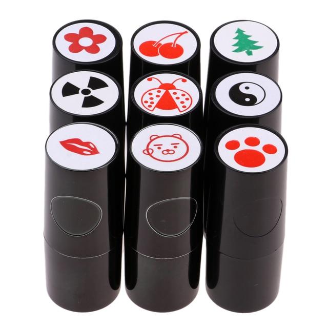 Helle Golf Ball Stempel Stamper Marker Quick Dry Lange Anhaltende und Helle Farbecht für Golf Club Zubehör