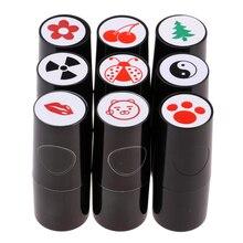 Luminoso Pallina Da Golf Stamp Stampers Marcatori Quick Dry di Lunga Durata e Luminoso Colorfast per il Golf Club Accessori