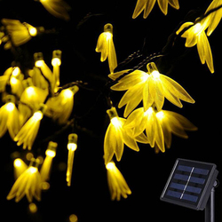 Słoneczne LightFour-liść koniczyny ciąg światła energii słonecznej oświetlenie Patio boże narodzenie światła oświetlenie dla domu ogród trawnik Party dekoracje