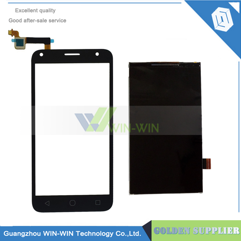 Tested Well For Alcatel One Touch PIXI 4 5.0 OT 5010 OT5010 5010D 5010E 5010G OT-5010 LCD Display with Touch Screen Digitizer аксессуар чехол alcatel one touch 5010d pixi 4 zibelino classico black zcl alc 5010d blk