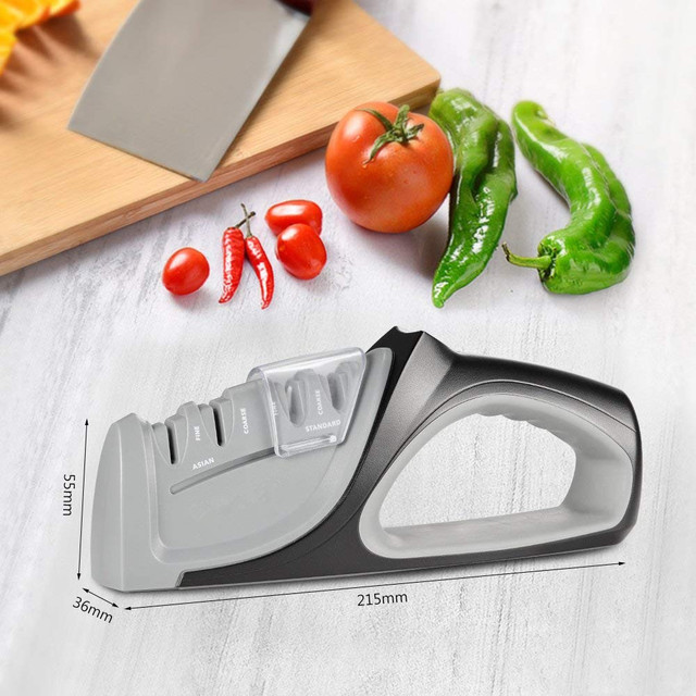 Precision Edge Professional Kitchen Knife Sharpener (4 Stages)