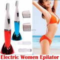 Washable Mini Lady Electric EyeBrow Trimmer Body Face Hair Remover Shaver Epilator for Women's Female Body Underarm Bikini Line