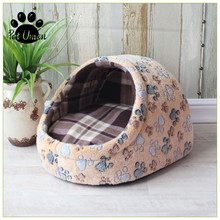 Pet Dog House Sofa Cat Puppy Bed Mats Mat Kennel Nest Removable Pillow Chihuahua Product Supply