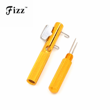 Full Metal Fishing Hook Knotting Tool & Tie Hook Loop Making Device & Hooks Decoupling Remover Carp Fishing Accessories Tool