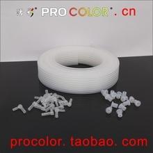 1,5 м СНПЧ трубопровод чернильная трубка чернильная труба ПВХ трубопровод для CIS СНПЧ части Аксессуары 8 цветов используется для 4 цветов 5 цветов 6 цветов 8 цветов