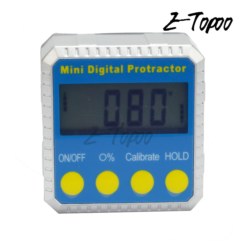 Electronic Angle Instruments : Good quality digital protractor inclinometer bevel