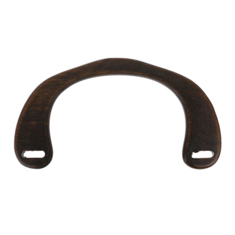 Luggage & Bags Trustful Noenname_null High Quality Wooden Handle Replacement Diy Handbag Purse Frame Bag Accessories