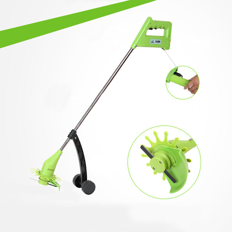 MX-DEMEL Cordless Electric Lawn Mower Household Portable Multi-purpose Weeder Lawn Mower Gardening Garden Grass Trimmer gardening tool manual weeder