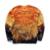Mr.1991 marca 12-18 anos de miúdos grandes fina camisola meninos moda jovem rei leão 3D impresso hoodies meninas jogger sportwear W25