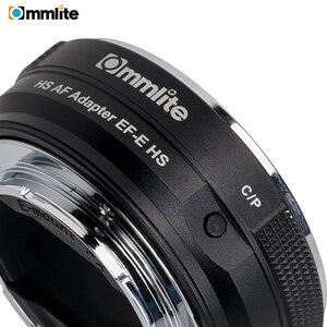 Image 4 - 소니 a7 a9 a7ii a7rii a7riii a6500 등을위한 e 마운트 카메라에 캐논 ef/EF S 렌즈 용 commlite 전자 af 렌즈 어댑터 링