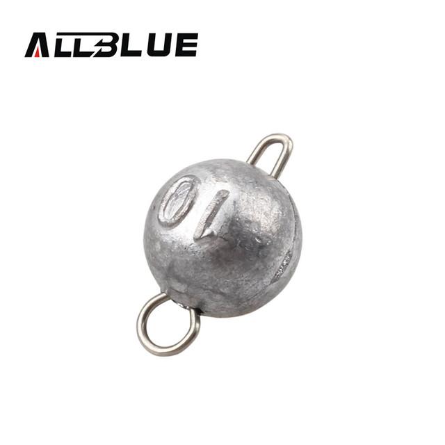 ALLBLUE Bullet Weights Sinker 6pcs