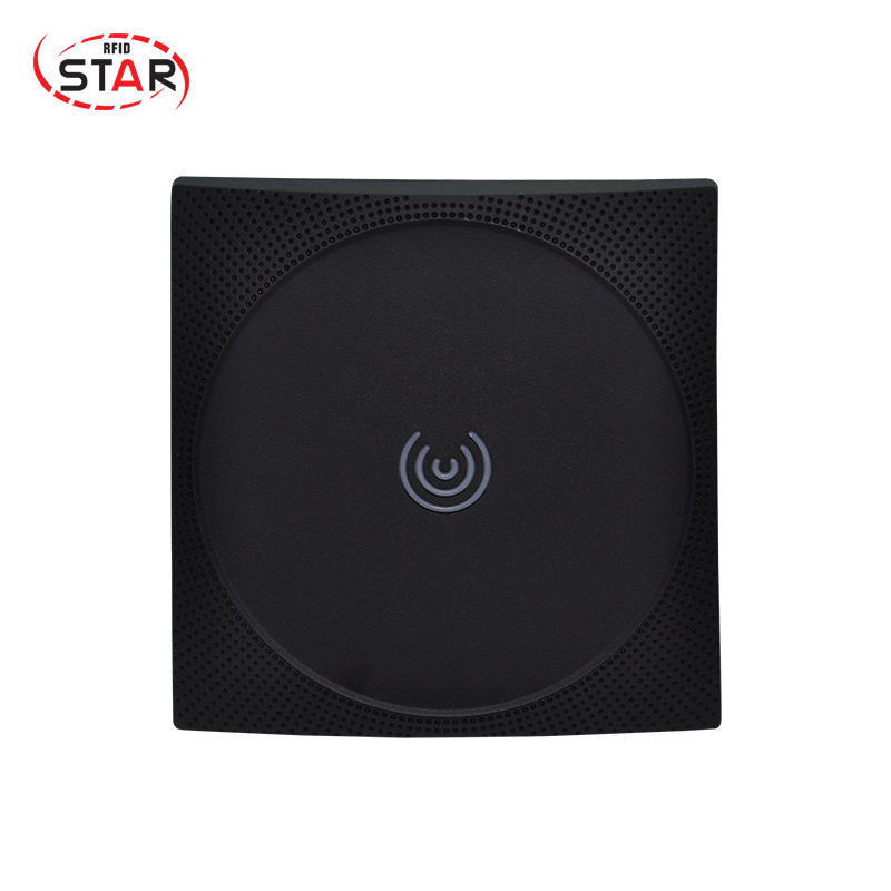 13.56MHz RFID card reader door IP67 waterproof weigand26 output ,card reader IC card smart card reader цены онлайн