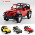 1:32 High Simulation Exquisite Pull back Model Toys Model Jeep Wrangler Vehicle Model Alloy Car Model toys for children