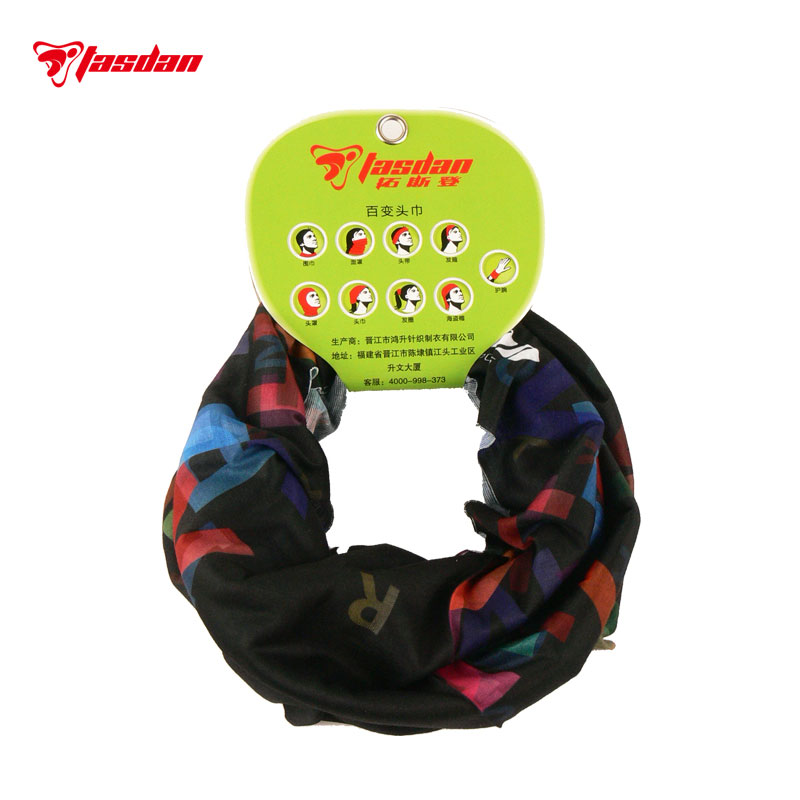Tasdan Outdoor Sports Cycling Clothing Cycling Wear Bike Bicycle Cycling Seamless Magic Scarf Riding Magic Headband two pcs