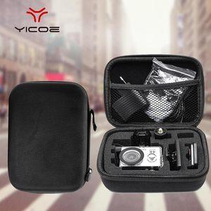 Image 2 - Gopro اكسسوارات صغيرة الحجم إيفا جمع حقيبة حقيبة صندوق تخزين forGopro Hero7/6/5/4/3 + SJCAM SJ4000 XIOMI يي 4K عمل الكاميرا
