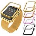 Protege el caso para apple watch series 2 y 1 accesorio ultrafino oro amarillo/oro rosa plateado 42mm/38mm apb1756