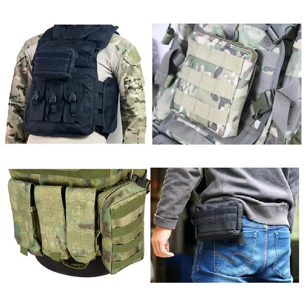 US $8 41 20% OFF|City Jogging Bags Molle Pouches Compact Water resistant  Multi Purpose Tactical EDC Utility Gadget Gear Hanging waist Bags-in City