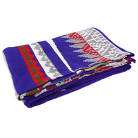 Double Layer Use All Match Clothes National Style Scarf Super Large Size Knitted Acrylic Fibres Women