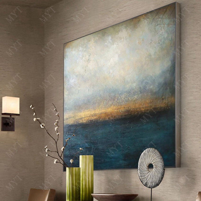 MYT oil painting on canvas room decoration modern large size 100% hand-drawn abstract painting drawing new oil painting