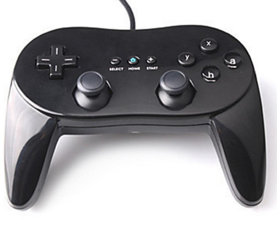 Classic Dual Analog Wired Game Controller Gaming Remote Pro Gamepad Shock controle Joystick For Nintend Wii Second generation