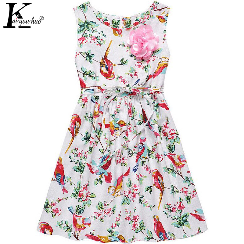 KEAIYOUHUO 2017 New Summer Girls Dress Children Clothing Costume For Kids Vestidos Princess Party Dresses For Girls Baby Clothes 2016 new girls clothes brand baby costume cotton kids dresses for girls striped girl clothing 2 10 year children dress vestidos
