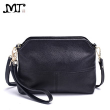 MJ Brand Women Bags Fashion Genuine Leather Messenger Bag Small Cross Body Shoulder Elegant Shell Ladies Day Clutches