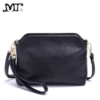 MJ Brand Women Bags Fashion Genuine Leather Messenger Bag Small Cross Body Shoulder Bag Elegant Shell Bags Ladies Day Clutches