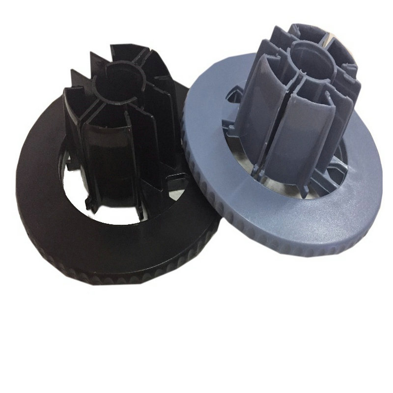 einkshop 1set CAP Spindle hub Blue Black for HP DesignJet 500 800 1050 1055 100 130 plotter parts C7769 40169 in Printer Parts from Computer Office