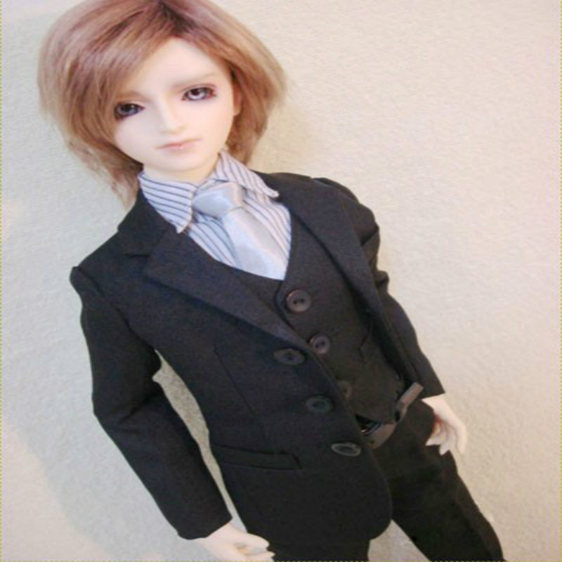 1/4 1/3 uncle BJD Doll suit coat shirt vest spot KKB029