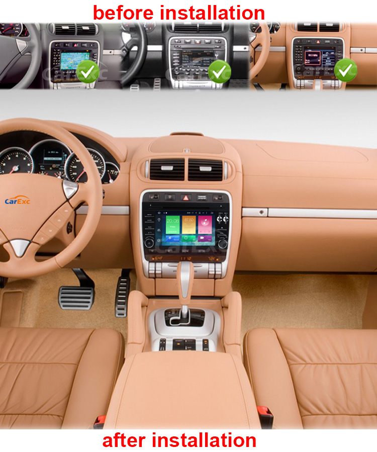 Sale Android 9.0 Octa Core  Car DVD Player Stereo System For Porsche Cayenne With Canbus Wifi GPS Navigation Radio Carplay 13