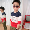 Spring Autumn Children t shirts baby kids boys long sleeve T shirts  baby children clothing pure cotton tees casual 2-12Y