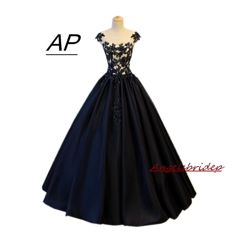 aae9f2c839c ANGELSBRIDEP New Arrive Ball Gowns Quinceanera Dress 2019 Top Appliques  Vestidos De 15 Debutante Gowns Illusion
