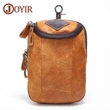 JOYIR 2019 New Genuine Leather Men Small Shoulder Bags Casual Messenger Crossbody Travel Bag Handbag for Male 6331
