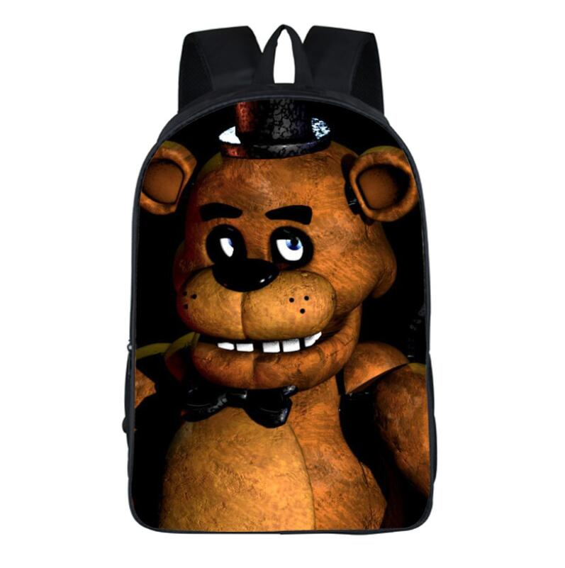 Five nights at Freddys рюкзак для подростков Бонни fazbear Foxy Фредди Чика рюкзак Обувь для мальчиков Обувь для девочек Школьные ранцы Рюкзаки дети Сумки