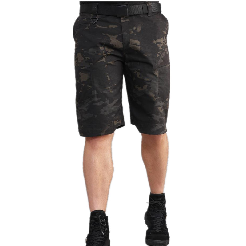 Summer Cotton Army Shorts Men Fashion Brand Breathable Male Casual Shorts Comfortable Plus Size Combat Shorts Masculino