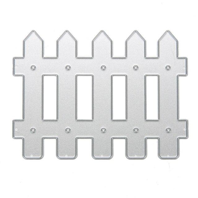 Zaun Sammelalbum DIY album Karte Papier Kartenhersteller Metall ...
