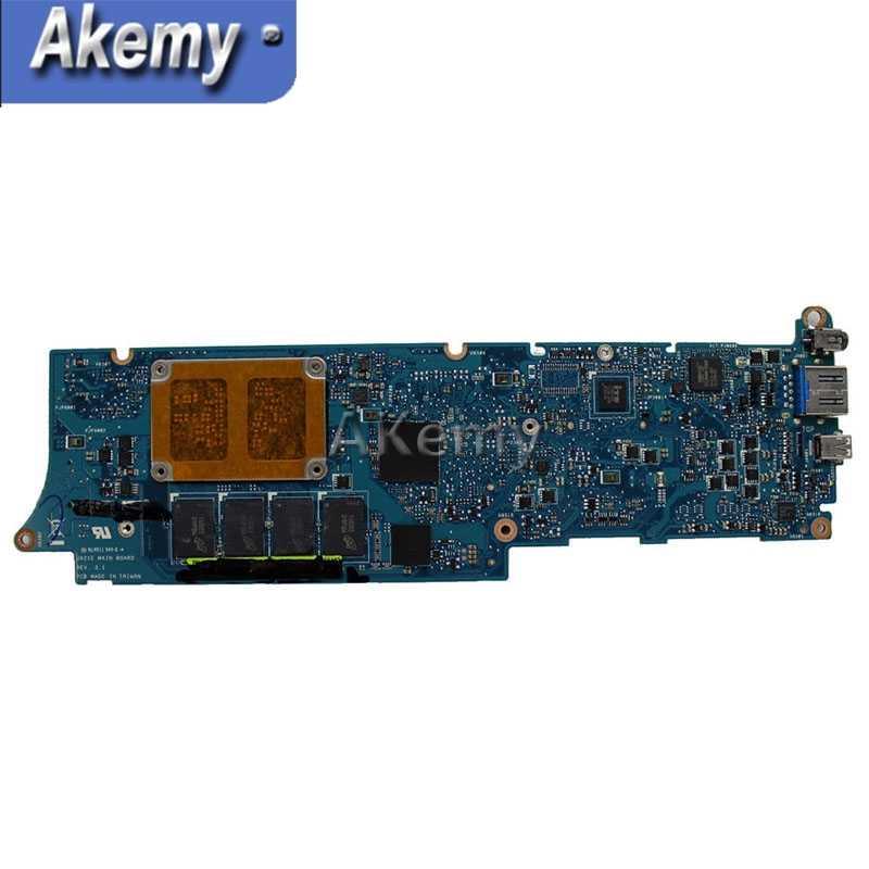AK UX21E z i3-2367 CPU 4GB RAM płyta główna ASUS UX21 UX21E Laptop płyta główna 60-N93MB2B00 100% testowane pracy